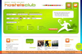 Hostelsclub.at - Hébergements bon marchés, hôtels, sites de camping, pensions