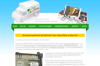 Ideal-service-picardie.com - Travaux de rénovation 60
