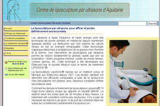 Liposculpture-ultrason.com - Traitement non chirurgical de réduction des graisses