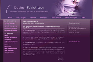 Levy Chirurgie Esthétique Lifting Peeling Liposuccion - La-chirurgie-esthetique-paris.com