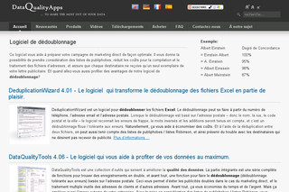 Dédoublonner Excel - Dataqualityapps.fr