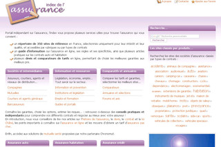 Index de l'assurance avec Index-assurance.fr