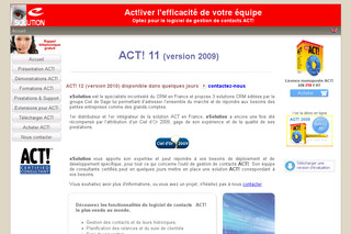 Logiciel ACT! - Act-france.net