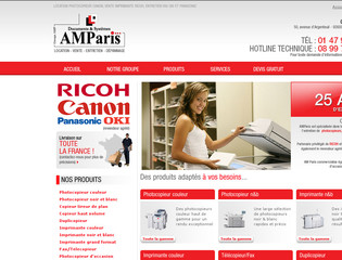 Location photocopieur et imprimante : AMParis