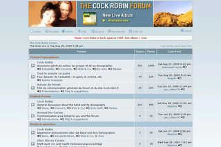 The Cock Robin Forum