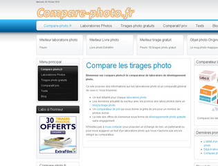 Comparateur de prix des développements photos - Compare-photo.fr
