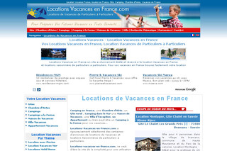 Location vacances en France avec piscine - Locations-vacances-en-france.com