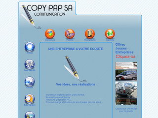 Copy Pap SA - Impression digitale, Photocopies, Publicité et Communication Visuelle - Copypap.ch