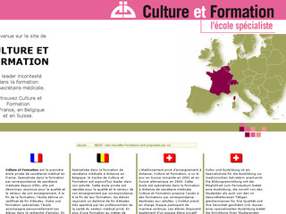 Culture et Formation | Site International - Culture-formation.com