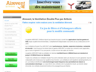 Airevent, la Ventilation Double Flux par Artbois - Ventilationdoubleflux.com