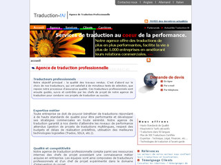Traduction-in.com - Agence de traduction Traduction-in