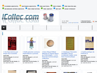 iCollec.com - Site international d'Enchères