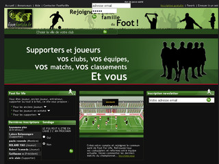 Footforlife.fr - Club de foot - Communauté en ligne Foot For Life