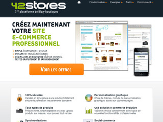 42stores.com | Solution ecommerce 42Stores