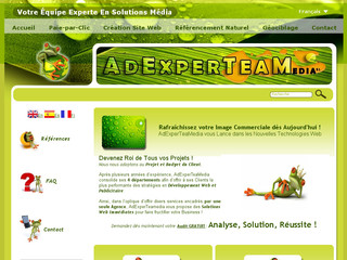 Adexperteamedia .com - Agence de web marketing