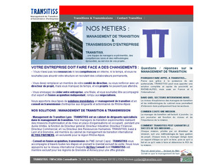 Transitiss.com - Management de Transition Lyon