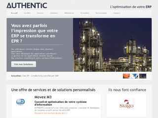 Consultant fonctionnel erp movex - Authentic-conseil.fr