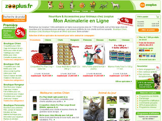 Animalerie zooplus, accessoires pour animaux - Zooplus.fr