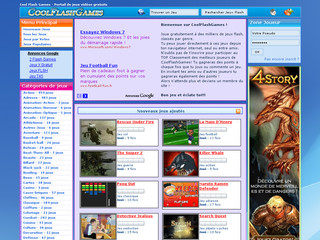 Cool Flash Games - Jeux en flash gratuits - Coolflashgames.fr