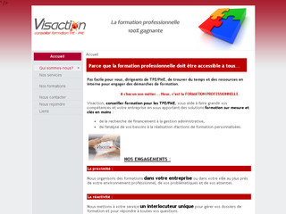 Visaction.fr - Formations sur mesure