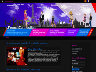 La french connection - Portail des français de Barcelone et Madrid - Lafrenchconnection.net