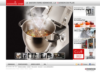 Robot cuiseur mixeur - Cooking-chef.fr