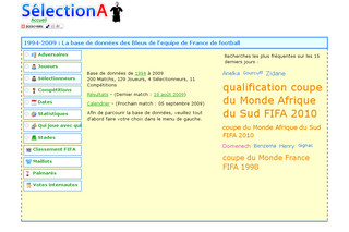Selectiona.free.fr : Equipe de France de foot