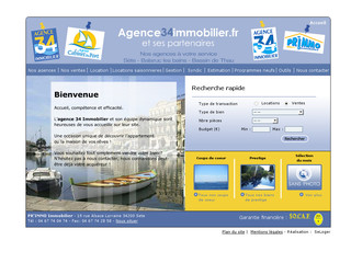 Agence immobiliere à Sète - Agence34immobilier.fr