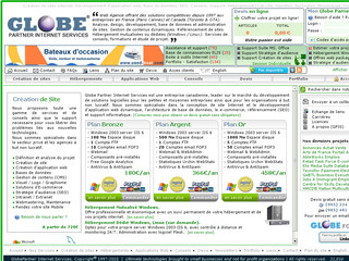 Globe Partner Internet Services - Création de sites Internet - Globepartner.com