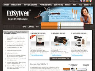 EdSylver - Vente de cigarette électronique Edsylver.com