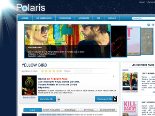 Polaris société de production audiovisuelle Paris - Polarisfilmproduction.com