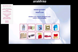 Araidena.com : Packaging cosmetique