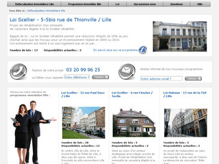 Programme immobilier Lille / JPB groupe - Defiscalisation-immobiliere-lille.fr