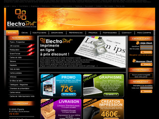 Studio graphique et impression grand format - Electroprint.fr