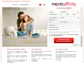 Meeticaffinity.fr - Rencontre avec Meetic Affinity