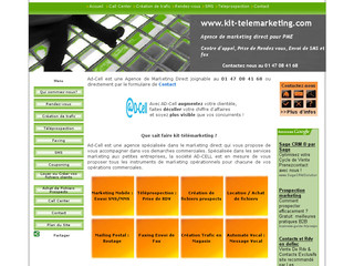 Kit-telemarketing.com - Agence marketing direct