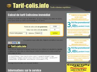 Calculer votre tarif colissimo avec tarif - Colis express tarif ...