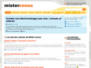 Mister conso - Mieux consommer et moins cher - Mister-conso.fr
