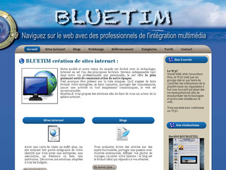 Bluetim.fr - Création de sites Internet