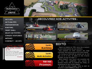 Performances Drive - Karting (Loire) - Performances-drive.fr