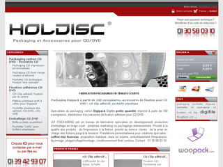 Holdiscshop - Pochette et packaging dvd