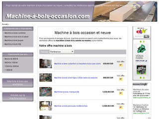 Machine à bois d'occasion sur Machine-a-bois-occasion.com