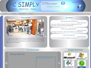 Pc-simply.fr - Magasin informatique pc simply