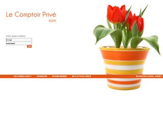 vente privee fleurs et plantes