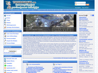 Technologue pro - Technologie professionnelle - Technologuepro.com