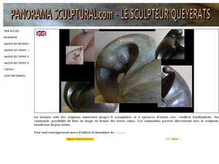 La sculpture contemporaine de Queyerats - Panorama-sculptural.com