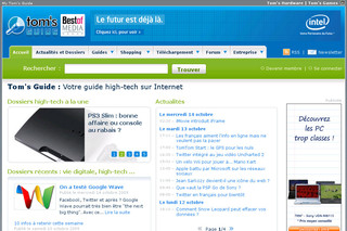 Tom's Guide - Portail d'information high-tech - Tomsguide.fr
