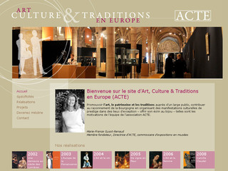 Art, Culture et Traditions en Europe - Acte-europe-21.fr