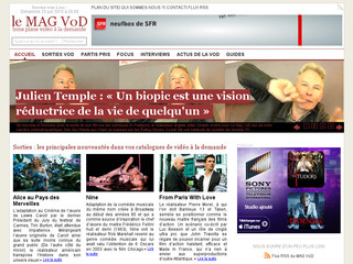 le Mag VoD - Le magazine des films, séries-tv et documentaires en VoD - Lemagvod.fr