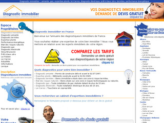 Annuaire diagnostic immobilier - Diagnostic-immobiliers.fr